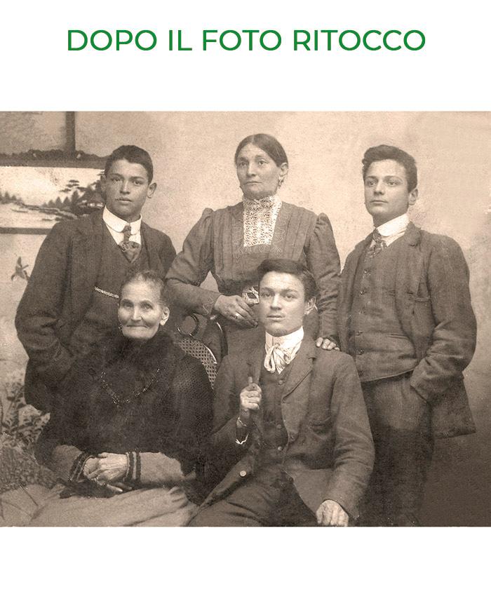 Foto di famiglia antica