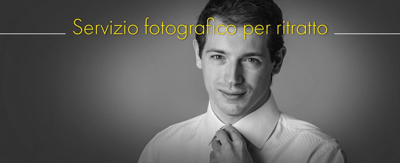 Servizio fotografico per ritratto
